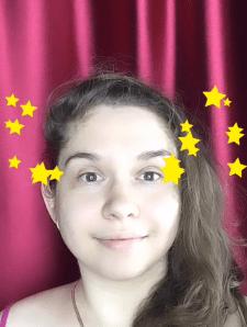Маска для Инстаграм - Stars