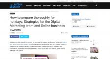 Strategies for the Digital Marketing team