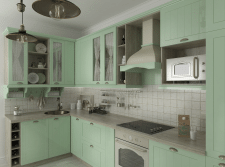 Кухня для девушки. ЖК «Новомостицко-Замковецкий»
