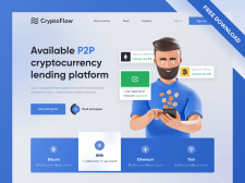 Service cryptocurrency lending market