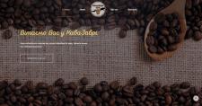 Сайт для міні кофейні