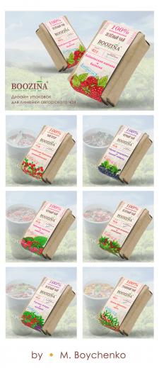 Дизайн упаковок для линейки Авторского Чая