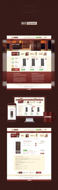 Сайт для компании BESTDOORS