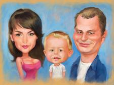 Семейный шарж