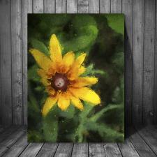 цифровая живопись, масло, картина, цветы