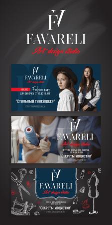 FAVARELI design banners