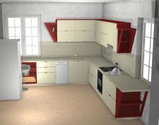 Проект эмалерованной кухни