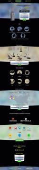 Дизайн Landing Page для компании RadioUP