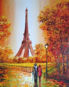 В Парижском парке