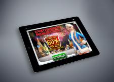 Welcome Screen для игр на планшете