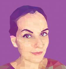 Полтгональный рисунок/портрет