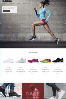 Мультибрендовый Shopify магазин Sneakerbox