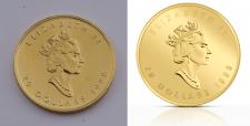Ретушь фото монет для ИМ