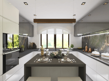 3D Visualization Kitchen
