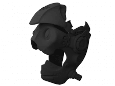 Шлем-маска (3D-печать)