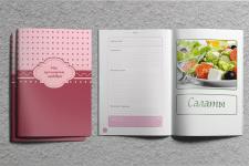 Верстка и дизайн книги рецептов