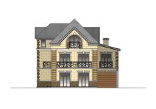 Дизайн фасадов частного дома.
