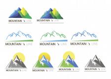 Логотипы разработан для компании MOUNTAIN`S LINE,