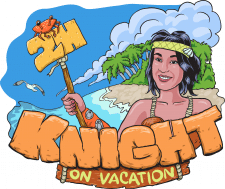 Hip hop Knight on vacation