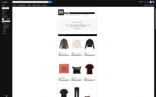 Система рассылки для интернет магазина одежды.