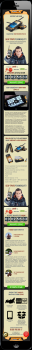 Дизайн мобильного Landing Page по продаже ZGPAX S9
