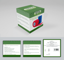 Дизайн упаковки для еластичного бинта