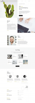 дизайн сайта Benchmark
