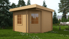 Модель и визуалка садового домика.
