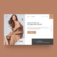 Сайт fashion магазина одежды