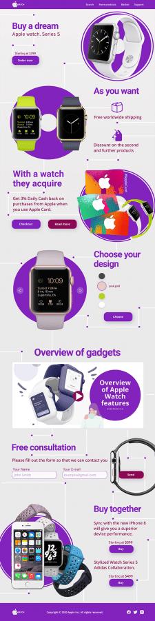 Редизайн Apple Watch