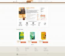 Дизайн сайта - http://arabica.com.ua