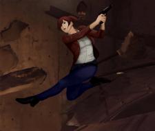 Фан-арт к игре Resident Evil Revelations 2