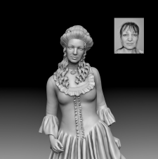 3D-скульптура для ЧПУ / 3Dsculpture for CNC