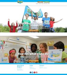 Сайт для детского досуга, создание своих клубов.