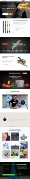 Лендинг (Landing Page) для продажи 3D-ручек