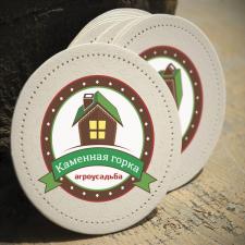 """Логотип для агроусадьбы """"Каменная горка"""""""