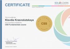 CSS Fundamentals course