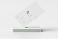 Package Design (coffeebrand) 'Copristine': визитка