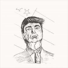 Портрет Дональда Трампа