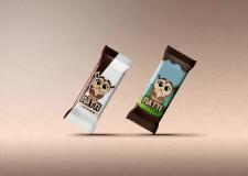 Иллюстрация для обертки вафельных конфет