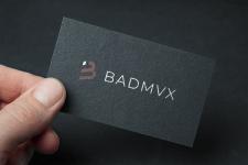 Лого BADMVX (личный бренд)