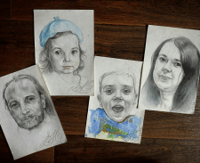 Портреты для семьи.