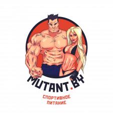 Логотип-аватар для интернет агазина спортпита