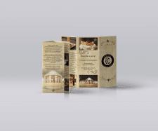 Booklet cafe pride