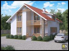 3D визуализация частного дома