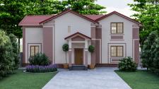 Дизайн экстерьера жилого дома в г.Киев