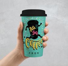 дизфйн кофейного стакана