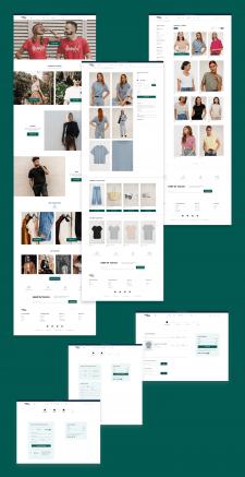 Интернет магазин одежды / E-commerce concept