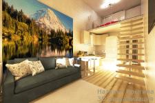 Проект 4 визуализация малогабаритной квартиры