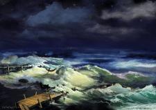 Ревущее море